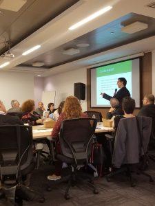 Philippe Archambault, directeur scientifique, présente l'initiative Société inclusive
